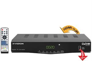X.VISION XDVB-383 Set-Top Box